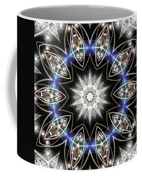 Flux Magnetism Coffee Mug featuring the digital art Flux Magnetism by Derek Gedney