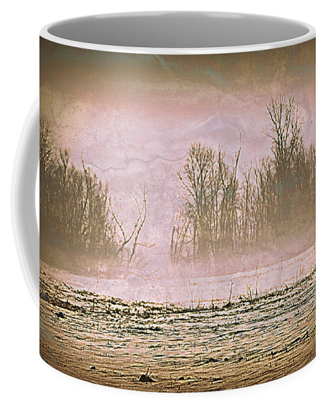 Landscape Coffee Mug featuring the photograph Fog Abstract 2 by Marty Koch