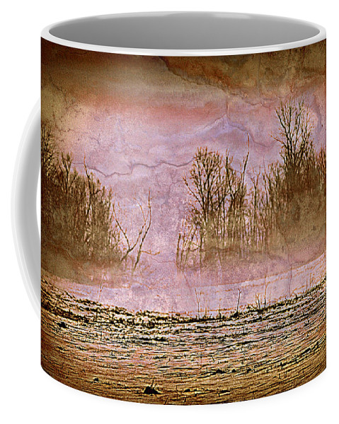 Landscape Coffee Mug featuring the photograph Fog Abstract 3 by Marty Koch