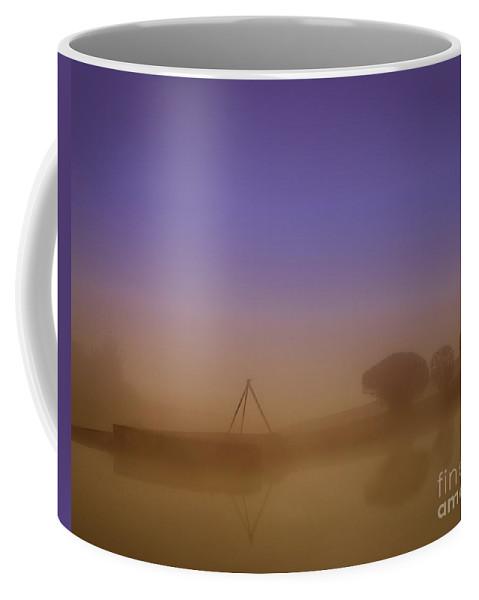 Maine Coffee Mug featuring the photograph Foggy Morning by Izet Kapetanovic