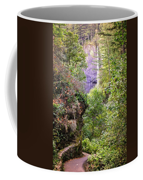 Oregon Coffee Mug featuring the photograph Follow The Path by Image Takers Photography LLC - Laura Morgan