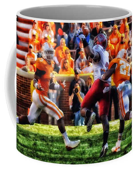 Tennessee Coffee Mug featuring the photograph Football Time In Tennessee by Mountain Dreams