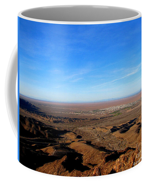 Art For The Wall...patzer Photography Coffee Mug featuring the photograph Foothills by Greg Patzer