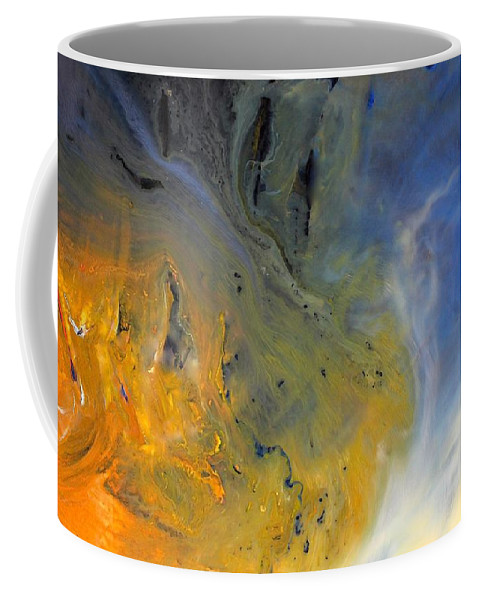 For A Change Coffee Mug featuring the mixed media For A Change by Kume Bryant