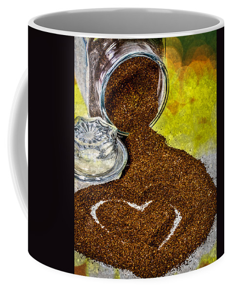 Coffee Coffee Mug featuring the photograph For The Love Of Coffee by Bob Orsillo