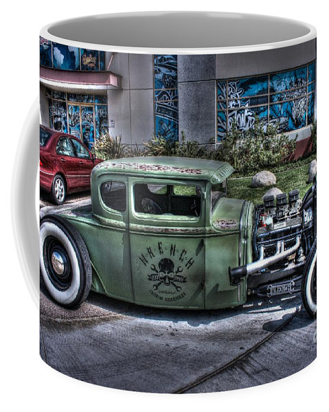 1931 Ford Model A Coupe Coffee Mug featuring the photograph Ford Hot Rod by Tommy Anderson