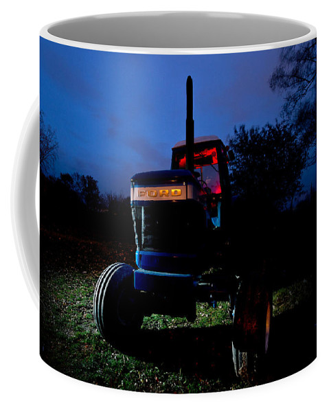 Tractor Coffee Mug featuring the photograph Ford Tractor by Cale Best
