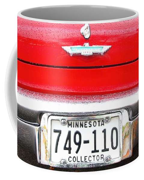 Ford Coffee Mug featuring the photograph Ford With Minnesota Licence Plate by Amanda Stadther