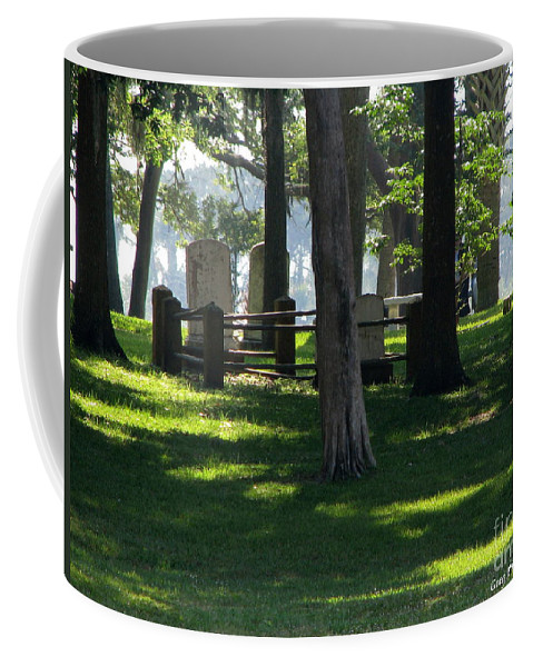 Patzer Coffee Mug featuring the photograph Fore Fathers by Greg Patzer