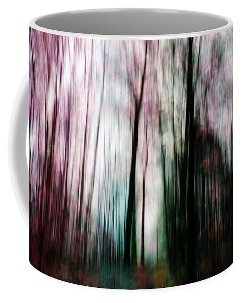 Abstract Coffee Mug featuring the photograph Forest Of Imagination by Randi Grace Nilsberg