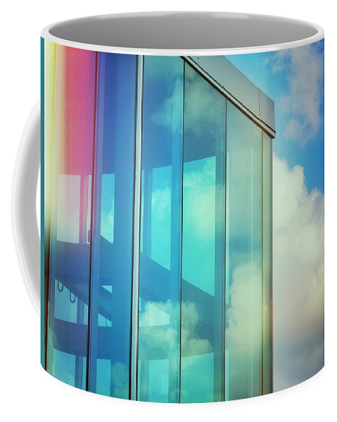 Forever Blue Coffee Mug featuring the photograph Forever Blue by Skip Hunt