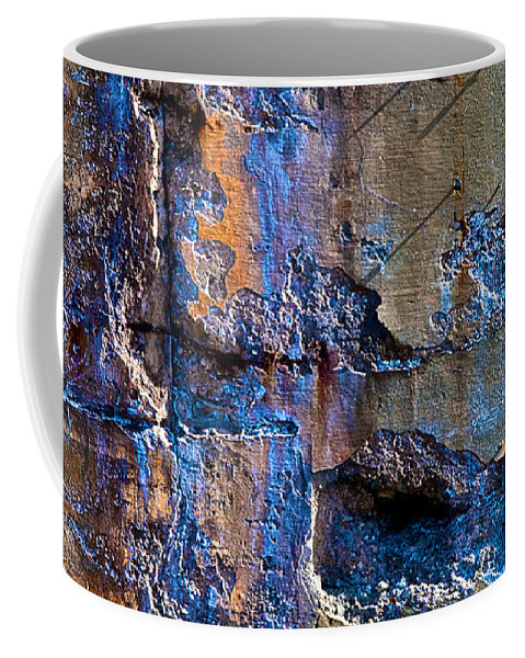 Industrial Coffee Mug featuring the photograph Foundation Seven by Bob Orsillo
