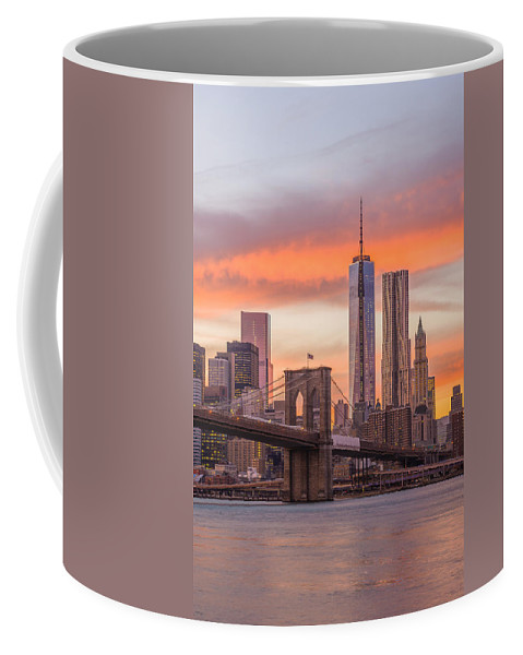Freedom Tower Coffee Mug featuring the photograph Freedom Tower by Mark Robert Rogers