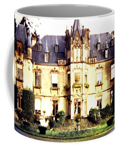 French Chateau 1955 Coffee Mug featuring the photograph French Chateau 1955 by Will Borden