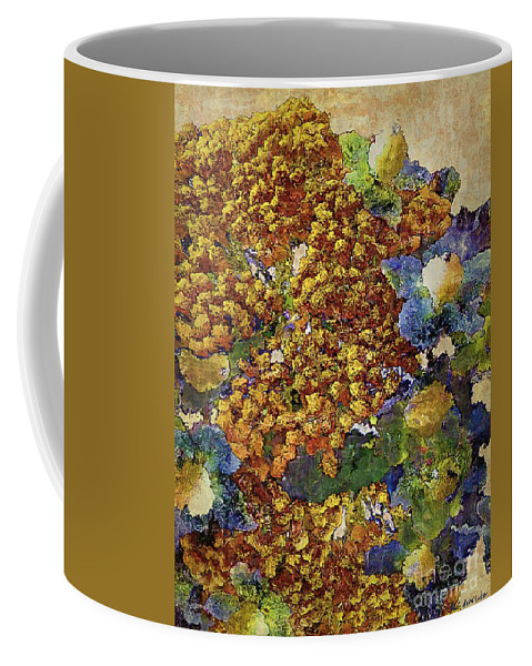 Tansy Coffee Mug featuring the painting French Country Print by RC DeWinter
