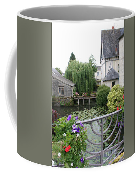 Village Coffee Mug featuring the photograph French Village by Christiane Schulze Art And Photography