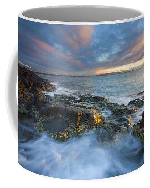 Freycinet Coffee Mug featuring the photograph Freycinet Cloud Explosion by Mike Dawson