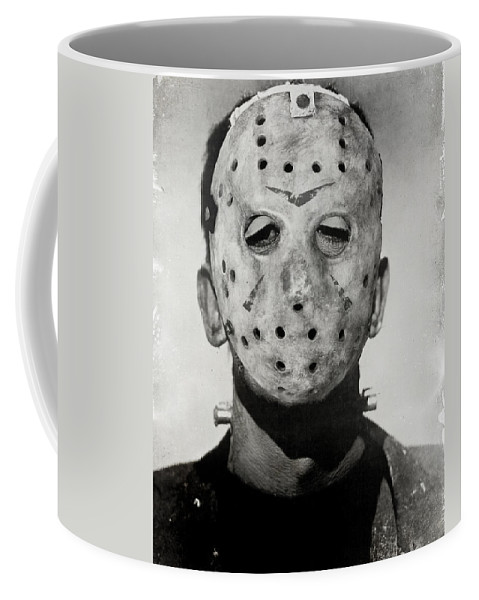 Mask Coffee Mug featuring the photograph Friendly Neighbour by The Artist Project