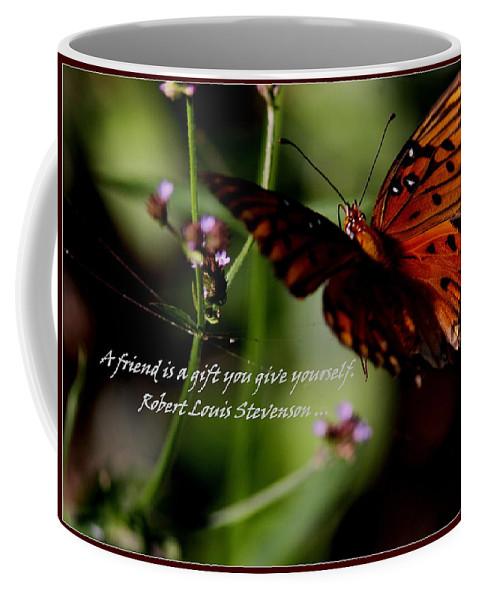 Friends Coffee Mug featuring the photograph Friends by Travis Truelove