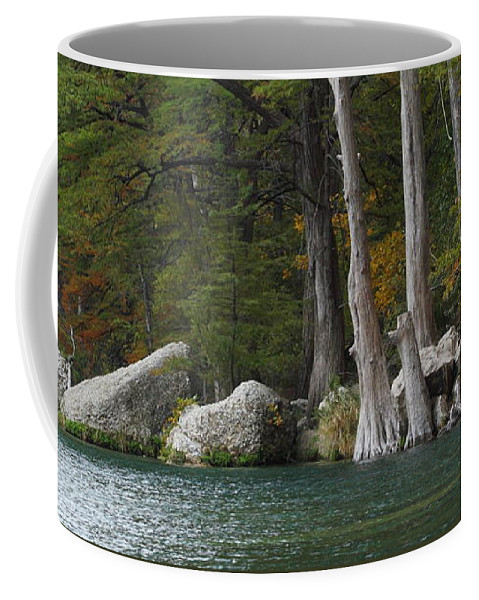 Fall Coffee Mug featuring the photograph Frio River 2 by Andrew McInnes