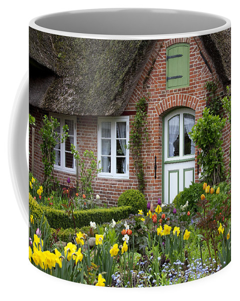Sankt Peter-ording Coffee Mug featuring the photograph Frisian House by Arterra Picture Library