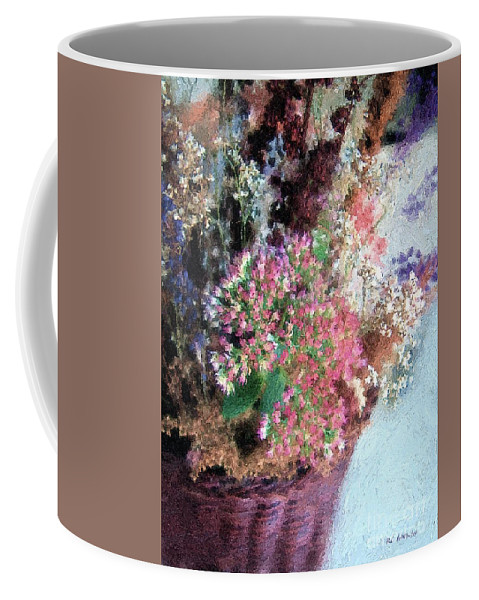 Flowers Coffee Mug featuring the painting From Her Secret Admirer by RC DeWinter
