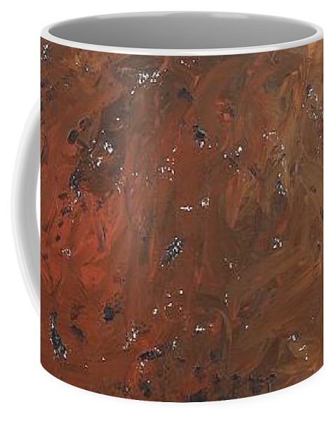 Abstract Coffee Mug featuring the painting ...from The Ashes by David Mayeau