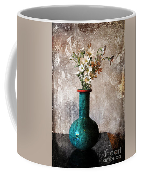 Vase Coffee Mug featuring the photograph From The Garden by Randi Grace Nilsberg