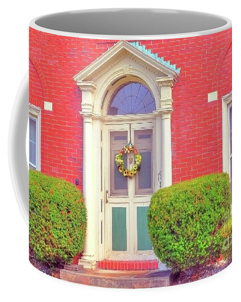 House Coffee Mug featuring the photograph Front Of Home by Kathleen Struckle