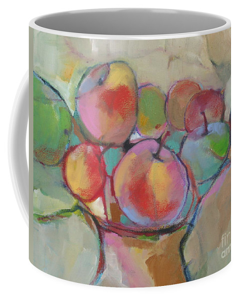 Still Life Coffee Mug featuring the painting Fruit Bowl #5 by Michelle Abrams
