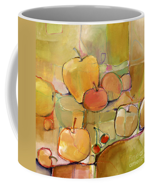 Fruit Coffee Mug featuring the painting Fruit Still Life by Michelle Abrams