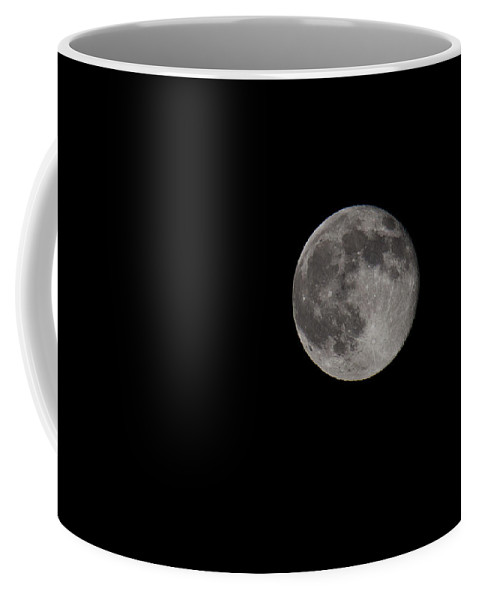 Full Coffee Mug featuring the photograph Full Moon At Midnight by Diana Haronis