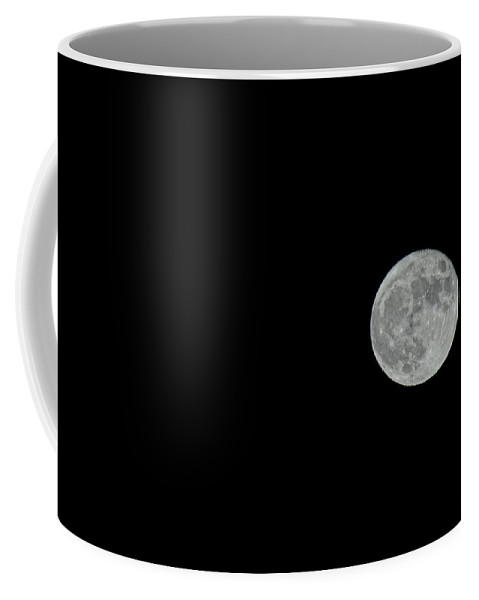 Moon Coffee Mug featuring the photograph Full Moon by Donna Blackhall