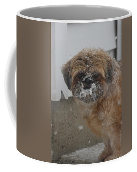 Snow Coffee Mug featuring the photograph Full Of Snow by Tiffany Erdman