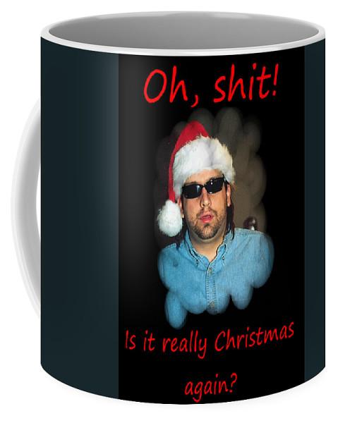 Christmas Card Coffee Mug featuring the photograph Funny Christmas Card by Joseph C Hinson Photography