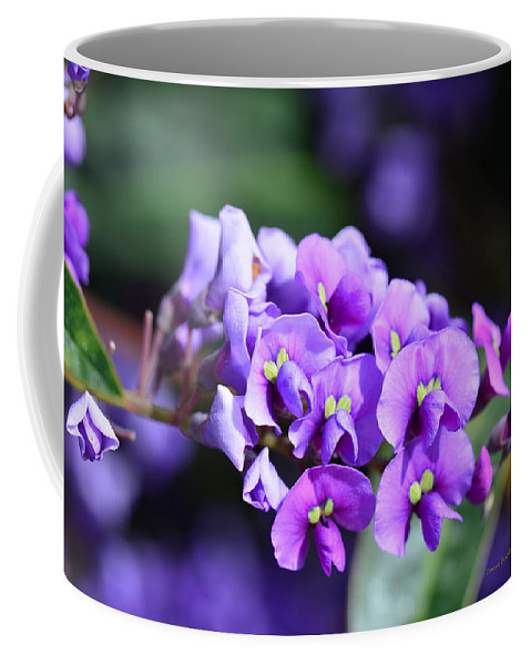 Flower Coffee Mug featuring the photograph Funny Faces by Donna Blackhall