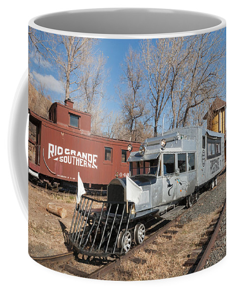 Colorado Coffee Mug featuring the photograph Galloping Goose 7 In The Colorado Railroad Museum by Fred Stearns