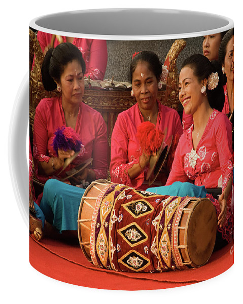 Indonesia Coffee Mug featuring the photograph Gamelan 02 by Rick Piper Photography