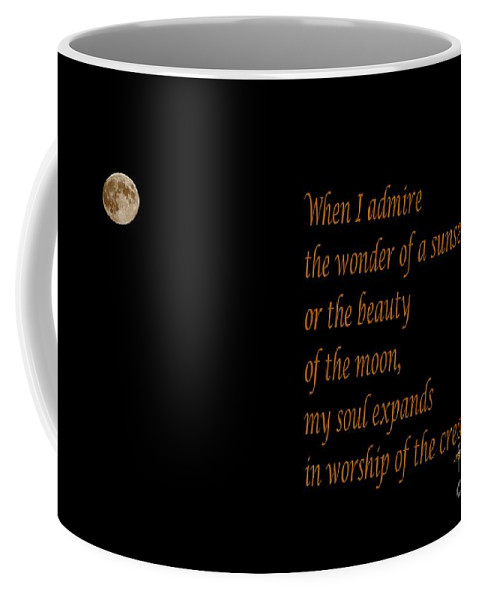 Gandhi Quote Coffee Mug featuring the photograph Gandhi Quote by Barbara Griffin