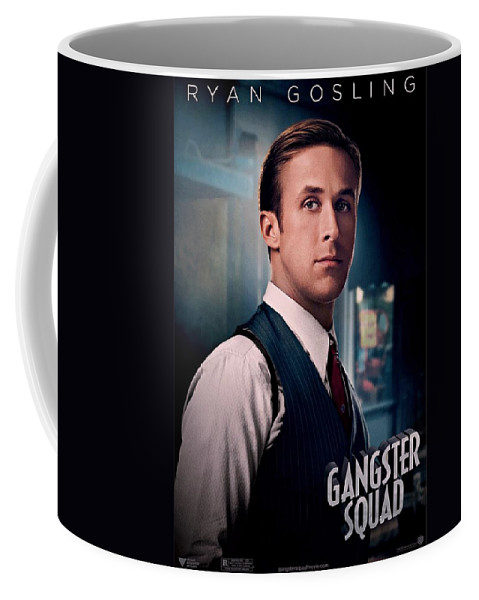 Gangster Squad Coffee Mug featuring the photograph Gangster Squad Gosling by Movie Poster Prints