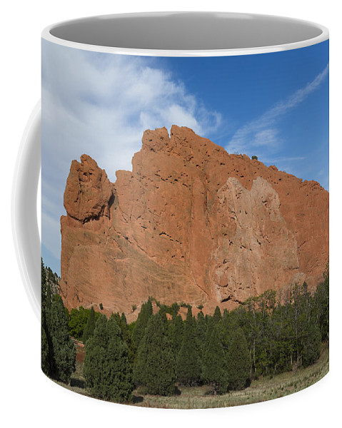Garden Coffee Mug featuring the photograph Garden Of The Gods Scene 36 by John Brueske