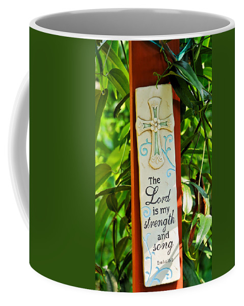Exodus Coffee Mug featuring the photograph Garden Prayer by Ginger Wakem