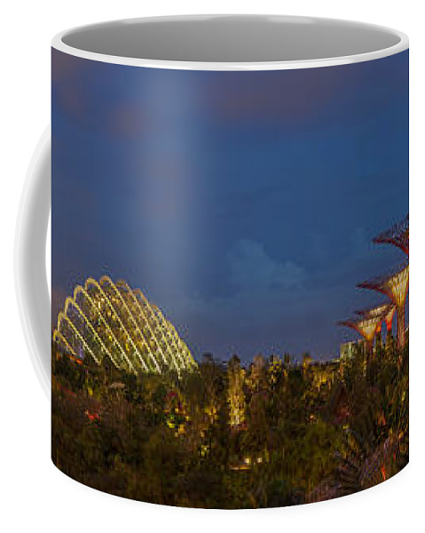 Gardens By The Bay Coffee Mug featuring the photograph Gardens By The Bay by Jennifer Grover
