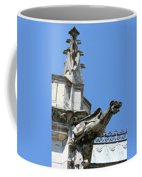 Gargoyle Coffee Mug featuring the photograph Gargoyle by Christiane Schulze Art And Photography