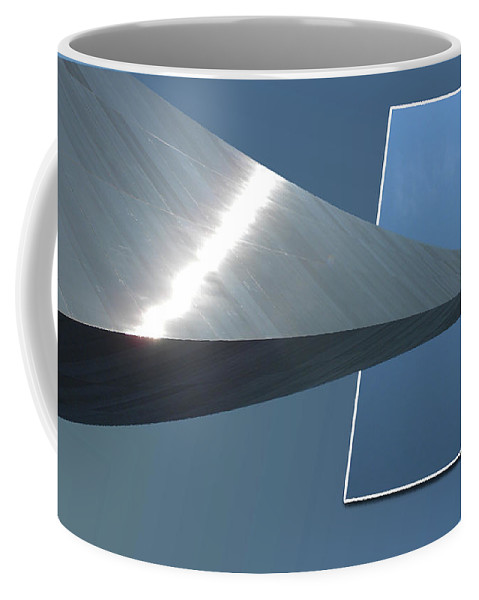Jefferson National Expansion Memorial Coffee Mug featuring the photograph Gateway Arch St Louis 05 by Thomas Woolworth