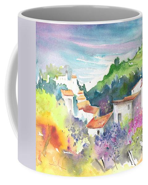 Spain Coffee Mug featuring the painting Gatova Spain 03 by Miki De Goodaboom