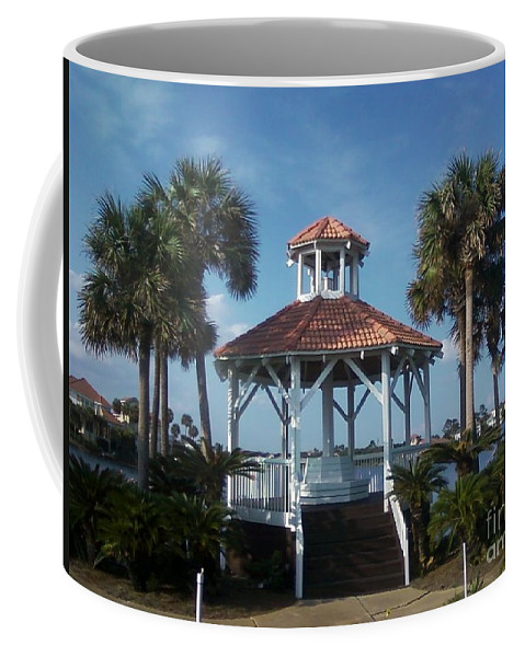 Landscape Coffee Mug featuring the photograph Gazebo by Michelle Powell