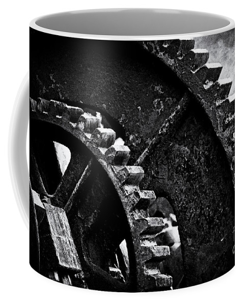Gear Coffee Mug featuring the photograph Geared Up by Joe Geraci
