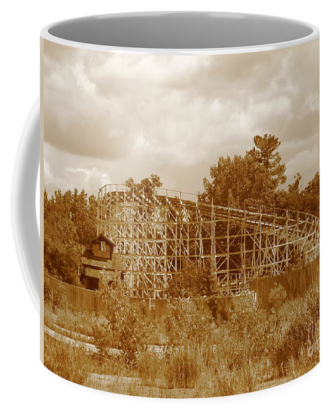 Geauga Lake Coffee Mug featuring the photograph Geauga Lake 2 by Michael Krek