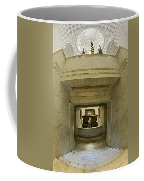 America Coffee Mug featuring the photograph General Grant National Memorial by Susan Candelario